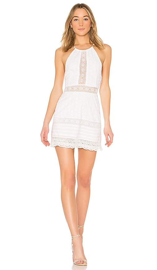Tularosa Caddie Dress in White