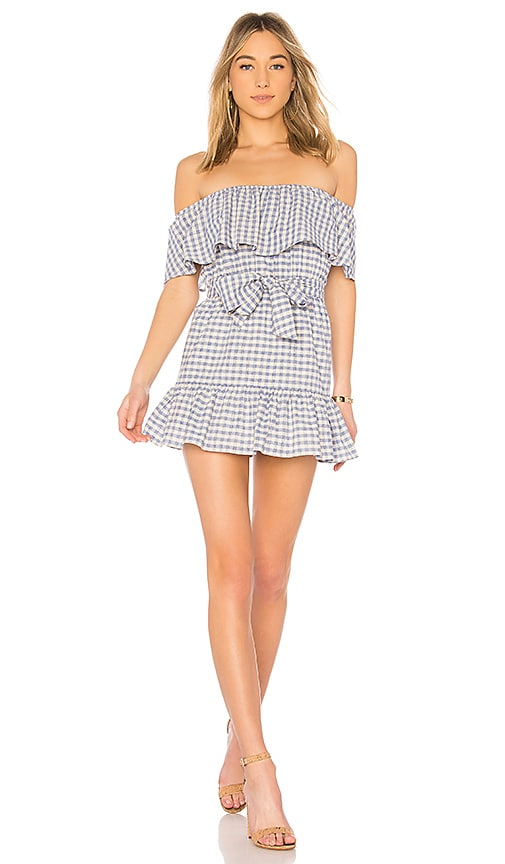 Tularosa Sallie Dress in Blue