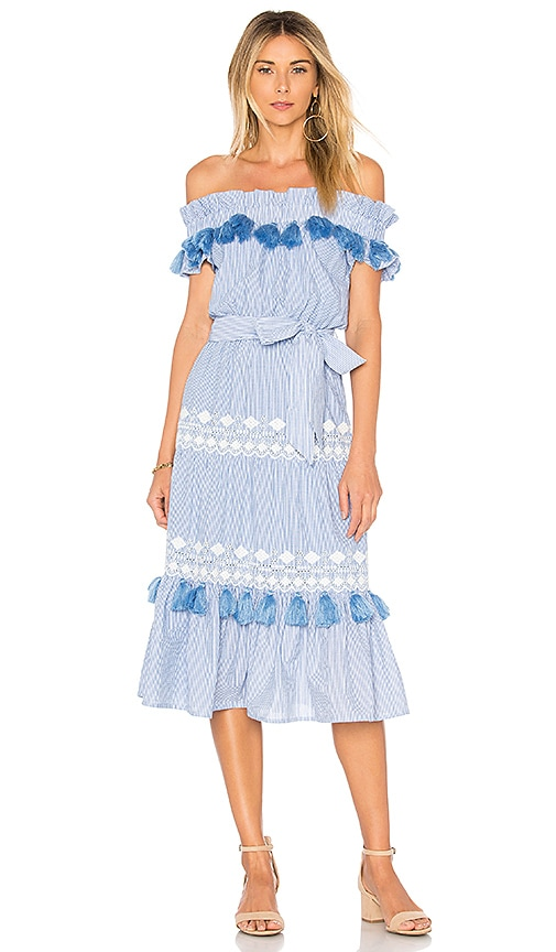Tularosa Lana Dress in Blue