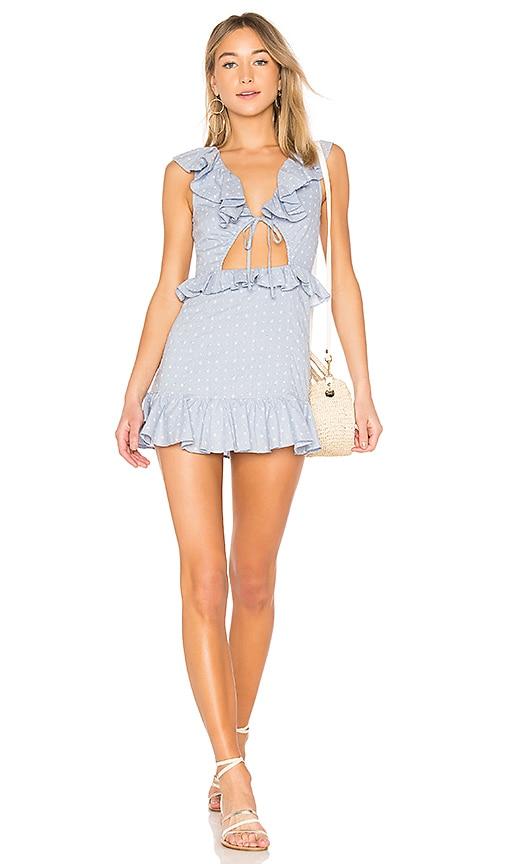 Tularosa Tanya Dress in Blue