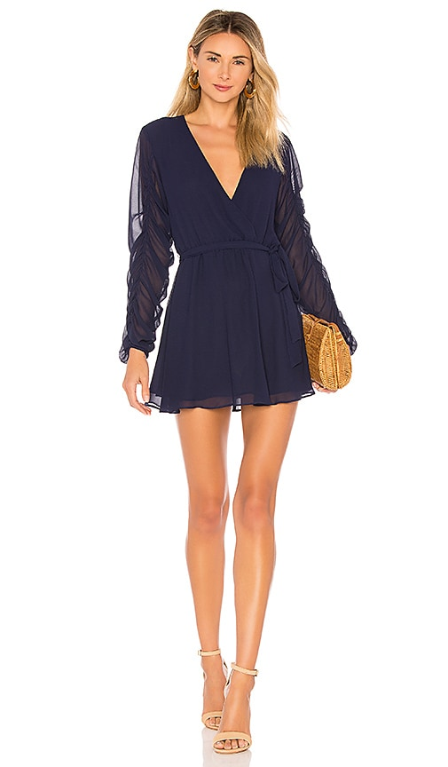 Tularosa Tawney Dress in Navy