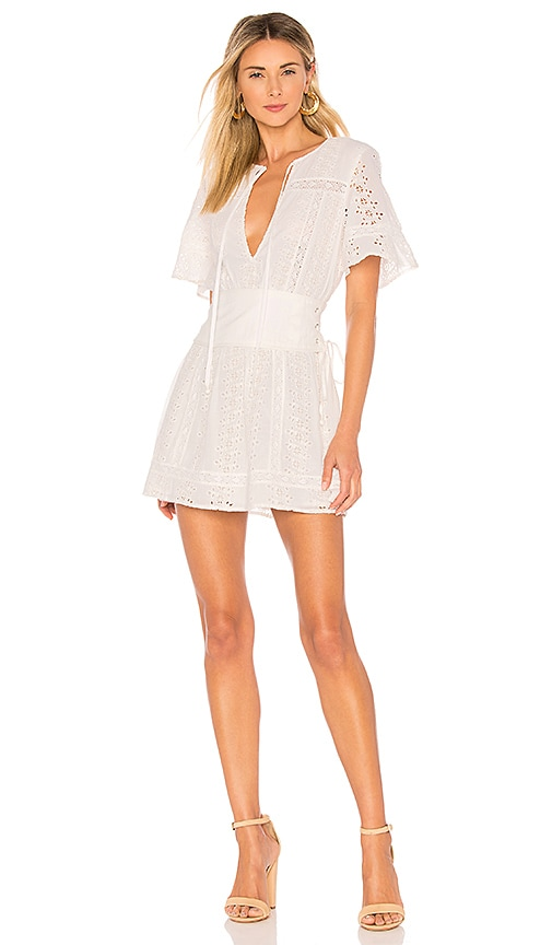 Tularosa Hannah Dress in Ivory