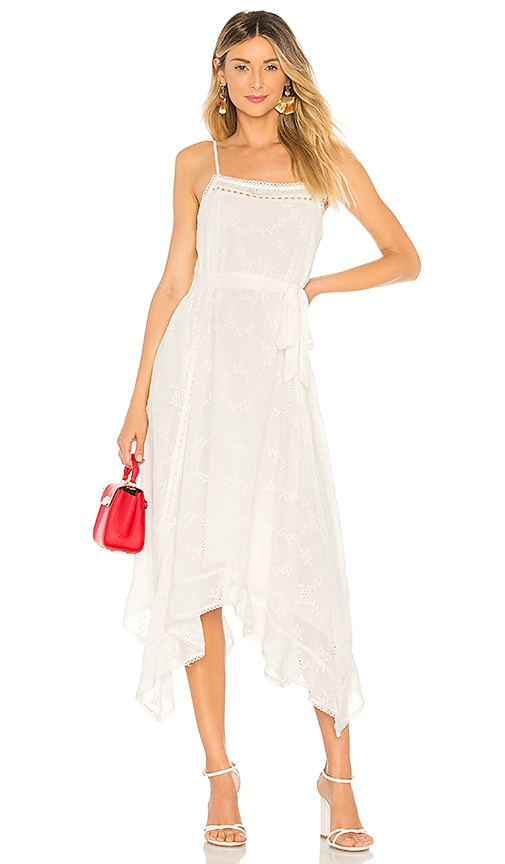 Tularosa Maxine Dress in White