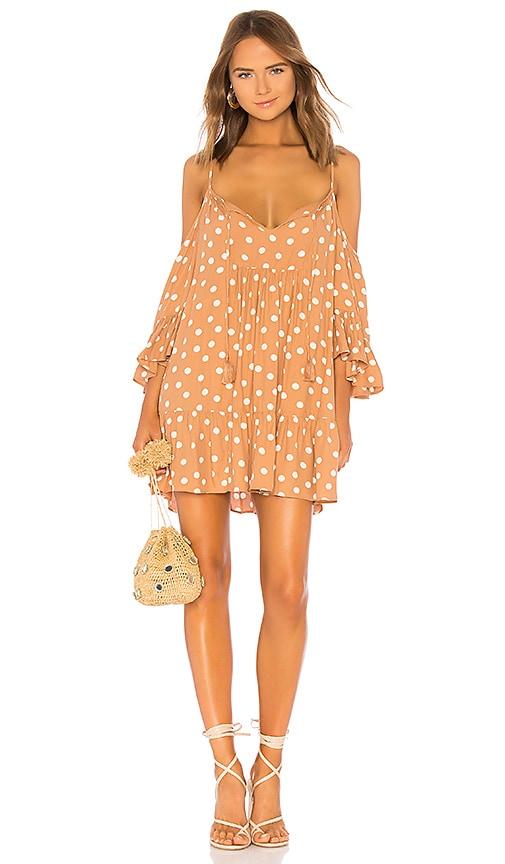 Tularosa Hattie Dress in Tan