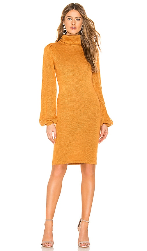 Tularosa Mila Sweater Dress in Sandstone | REVOLVE