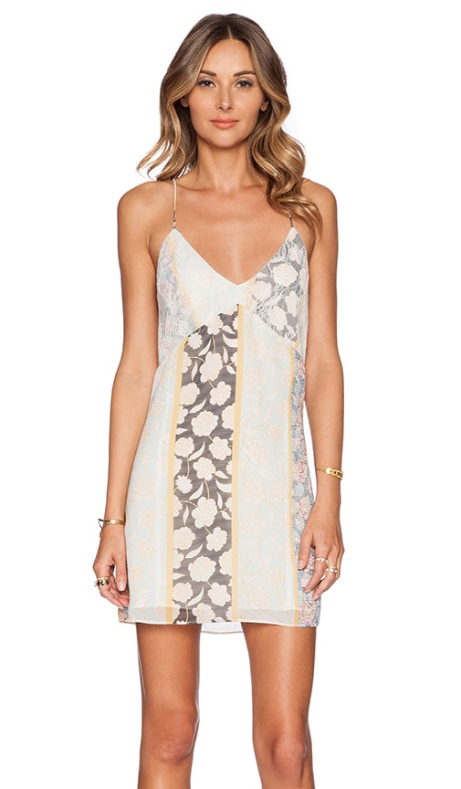 Tularosa Coastline Slip Dress in Yellow