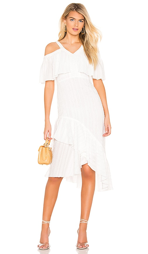 Tularosa Hadley Dress in Creme | REVOLVE