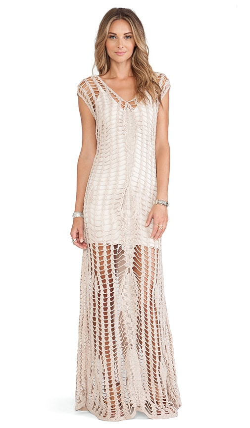 Penelope Crochet Maxi Dress