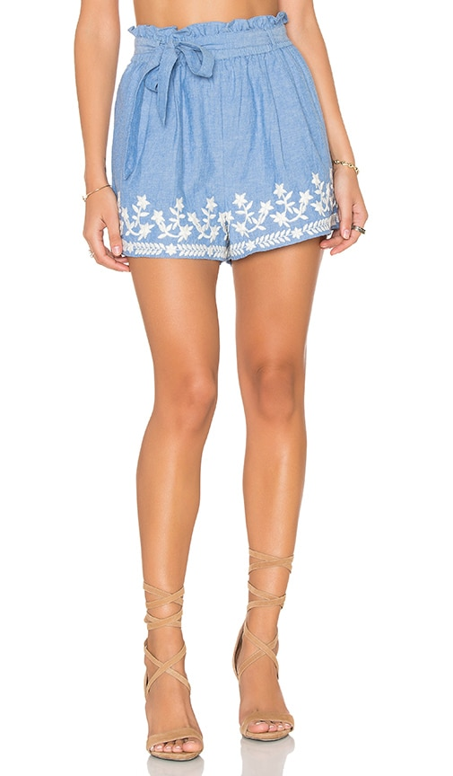 Tularosa Kaya Short in Blue
