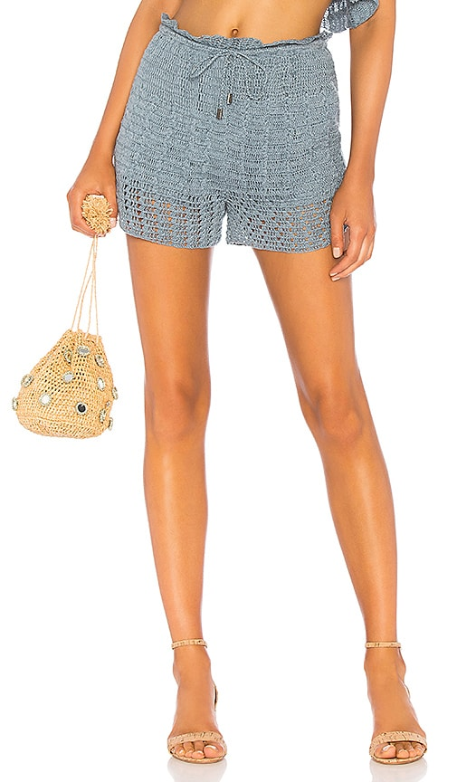 Willow Shorts In Blue. Short De Saule En Bleu. - Size M (also In L,s,xs) Tularosa - Taille M (également À L, S, Xs) Tularosa
