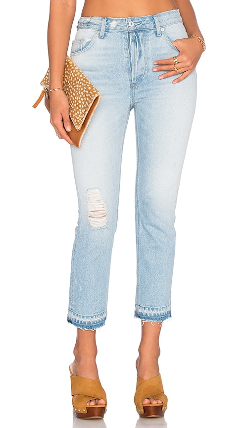 Tularosa Hailey Straight Leg Jean in Capri