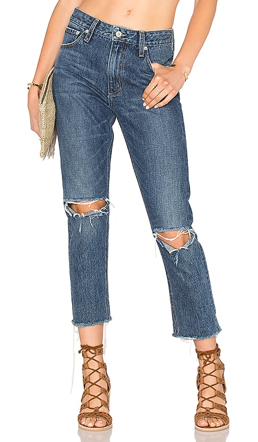 Tularosa Hailey Straight Leg Jean in Camaroon