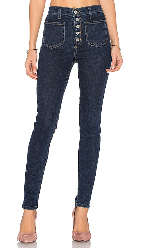 Tularosa Nora High Rise Jean in Monserrat Wash
