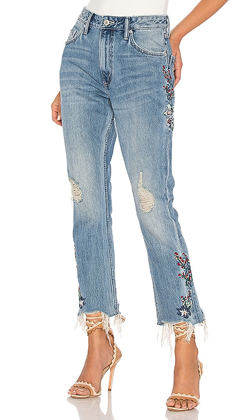 Tularosa Hailey Straight Leg Jean in Tala