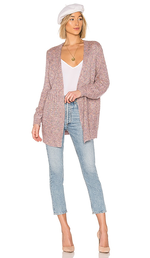 43552138a26 Tularosa Pauline Cardigan in Heather Lilac