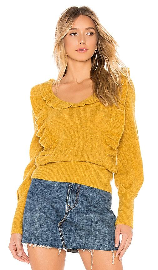 Dahlia Ruffle Sweater
