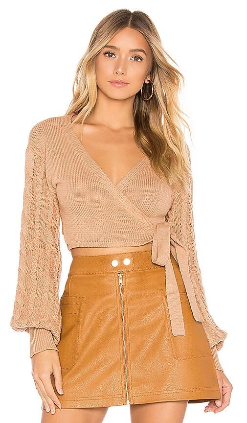 Sari Wrap Sweater