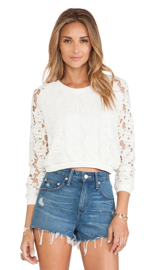 Remi Cropped Pullover