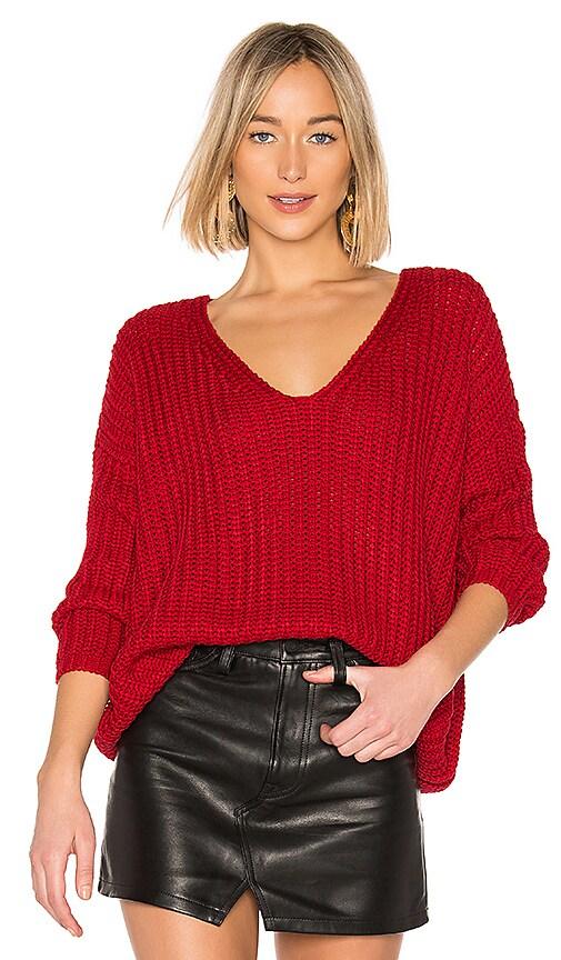 Tularosa Adams Sweater in Red