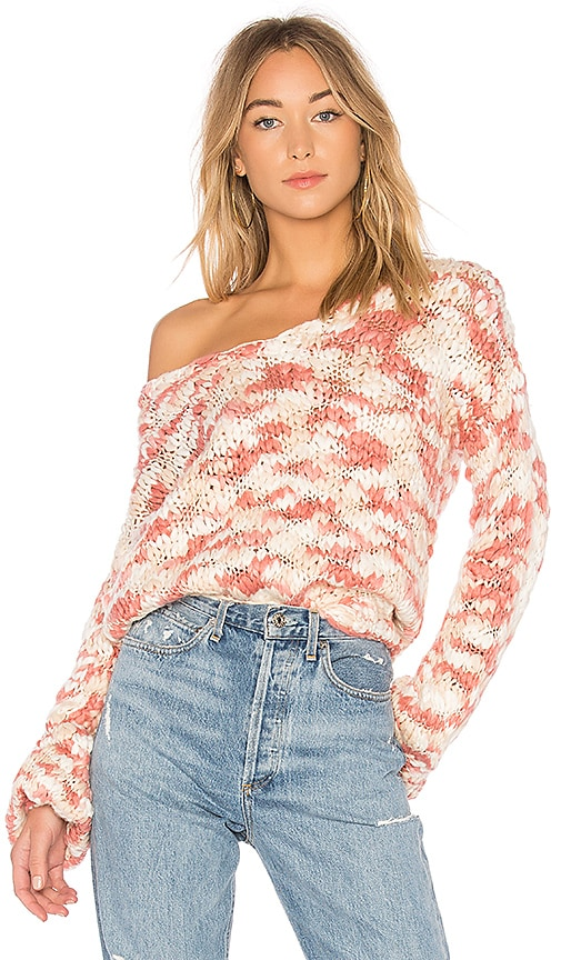 Tularosa x REVOLVE Brooklyn Sweater in Pink