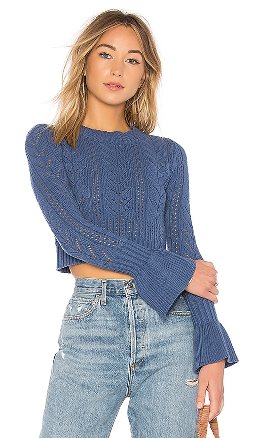 Tularosa x REVOLVE Bedford Sweater in Blue