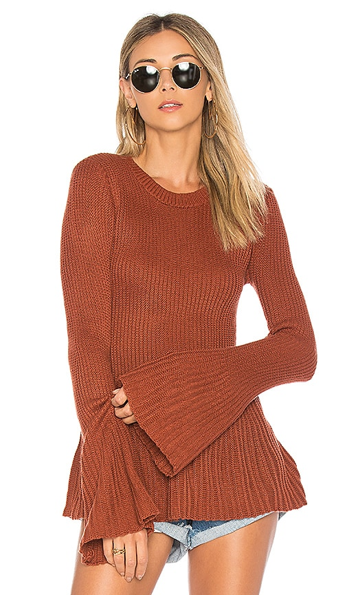 Tularosa Courage Sweater in Rust
