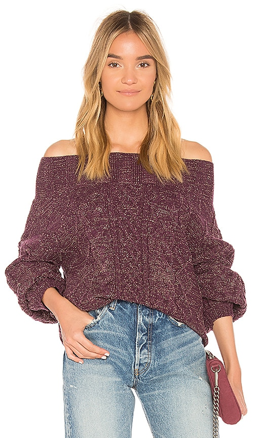 Tularosa Vanna Sweater in Purple