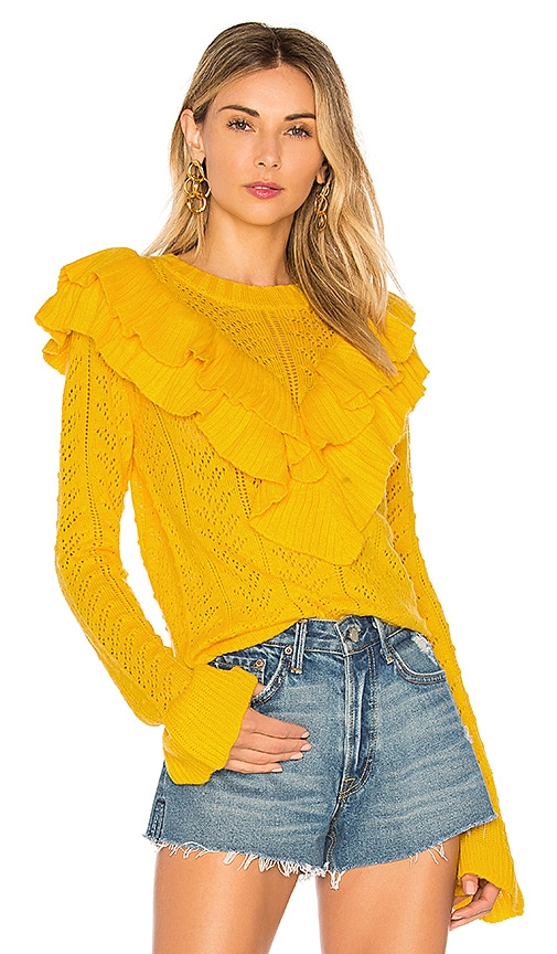 Tularosa Manny Sweater in Yellow