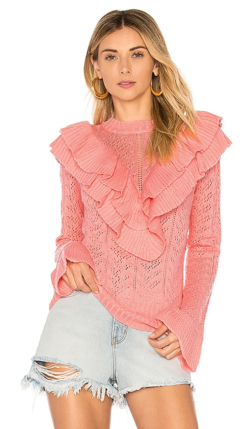 Tularosa Manny Sweater in Pink
