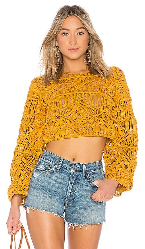 Tularosa Jamie Sweater in Mustard