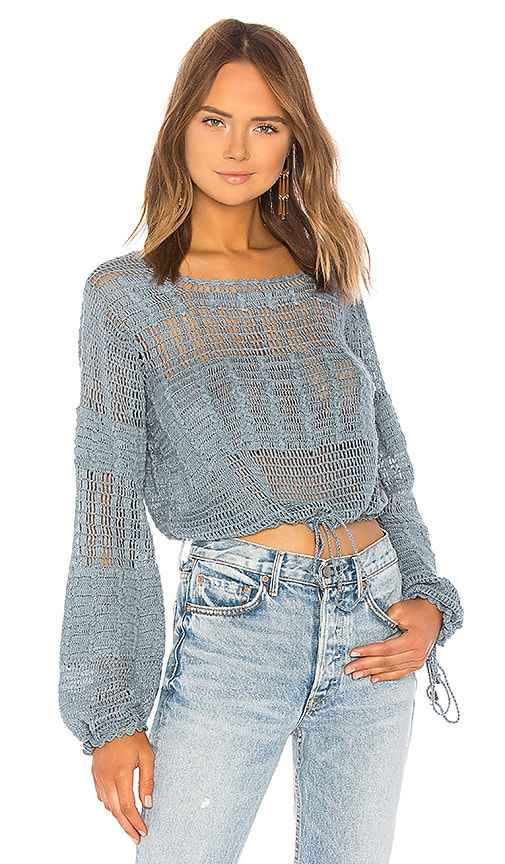 Tularosa Willow Pullover in Blue