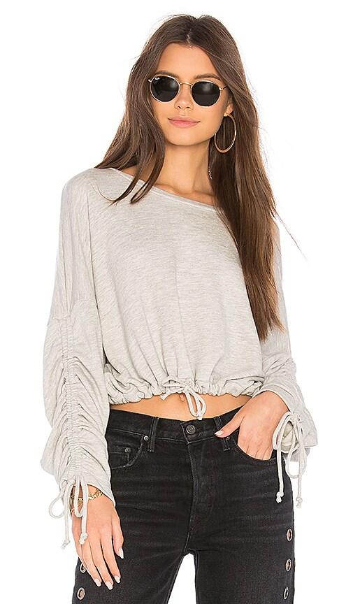 Tularosa x REVOLVE Nina Sweatshirt in Gray