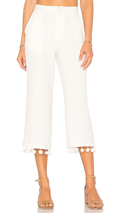 Tularosa x REVOLVE Huntington Pant in White