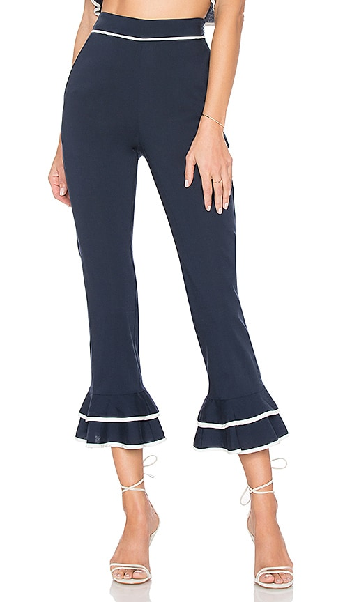 Tularosa Demi Pant in Navy