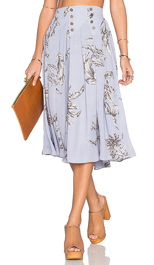 Tularosa Carver Skirt in Blue