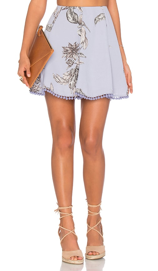 Tularosa x REVOLVE Iris Skirt in Blue