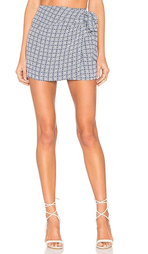 Tularosa x REVOLVE Virginia Skirt in Blue