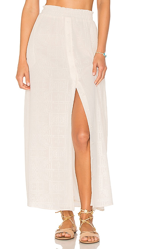 Tularosa Stella Skirt in Ivory