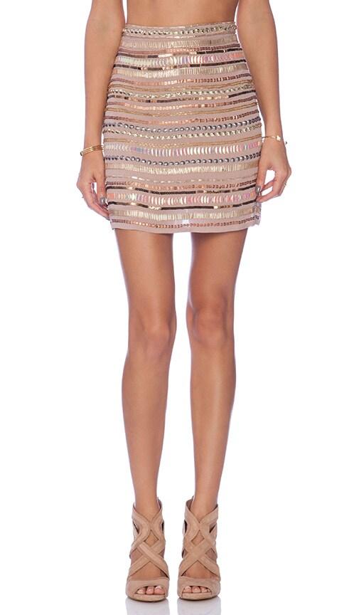 x REVOLVE Crystal Skirt