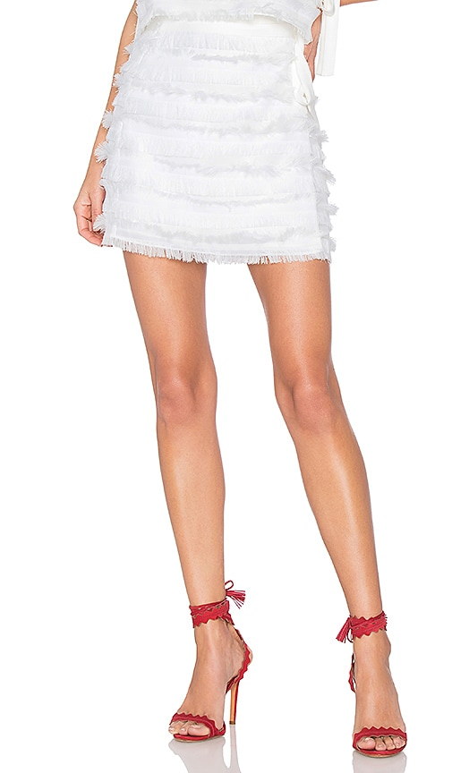 Tularosa Kenny Skirt in White