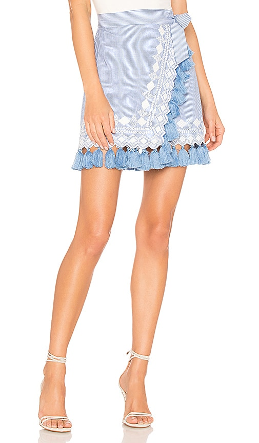 Tularosa Hyde Skirt in Blue