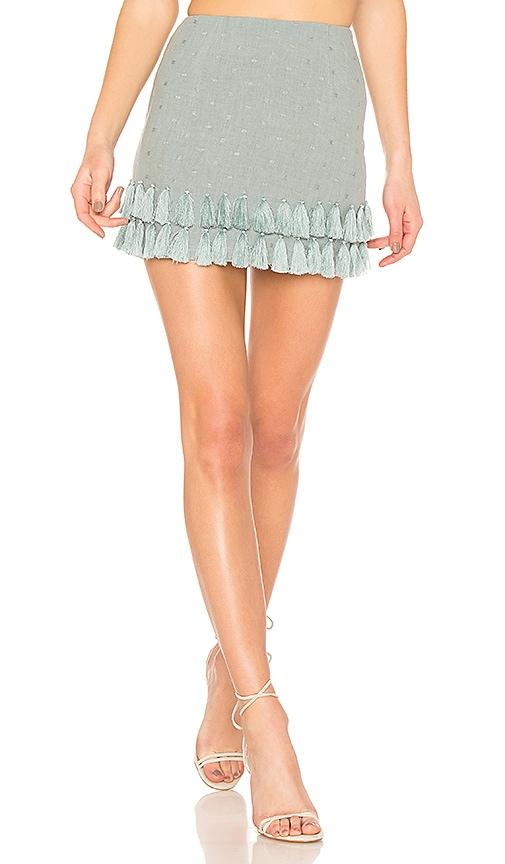 Tularosa Millie Skirt in Blue