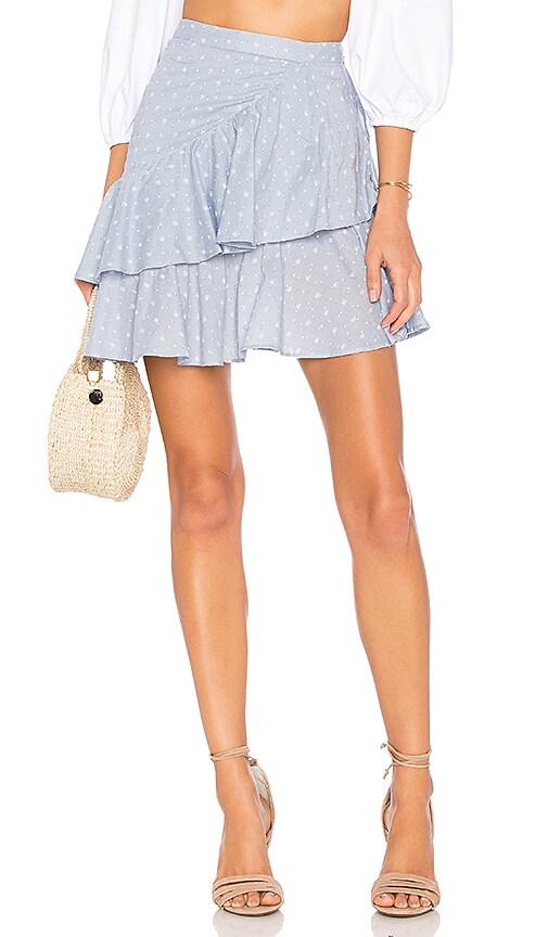 Tularosa Mara Skirt in Blue