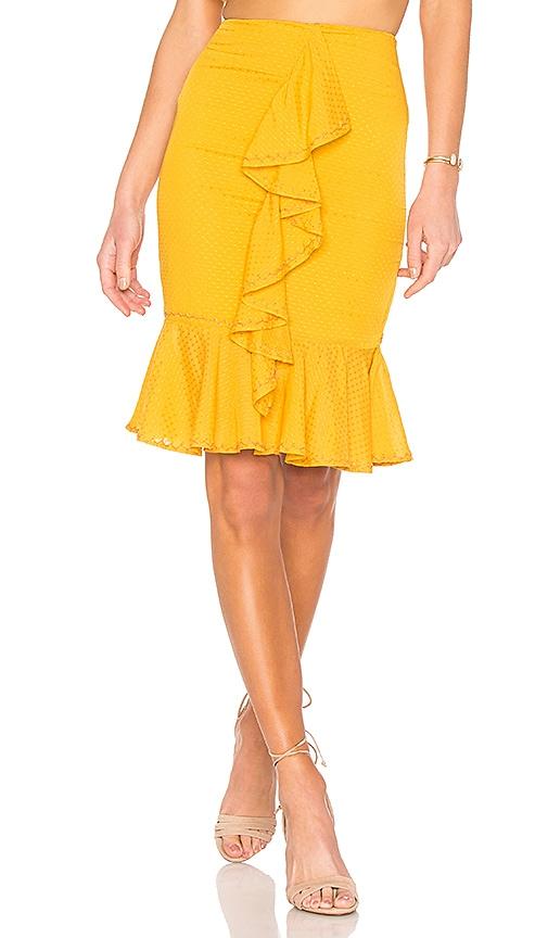 Tularosa Dana Skirt in Yellow