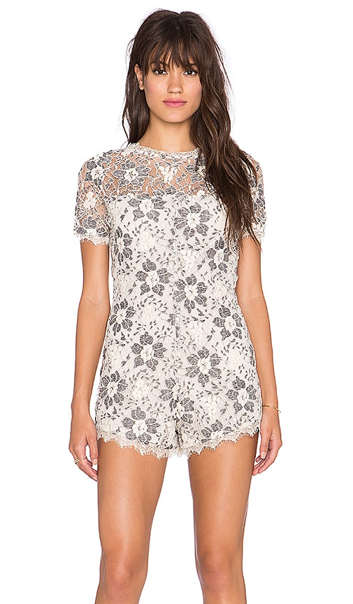 Charlie Lace Romper