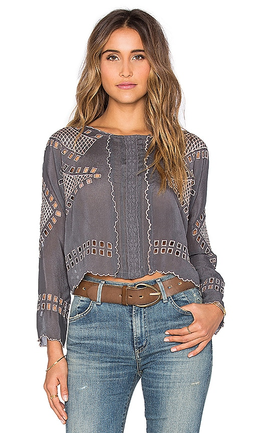 Tularosa x REVOLVE Daphne Top in Gray