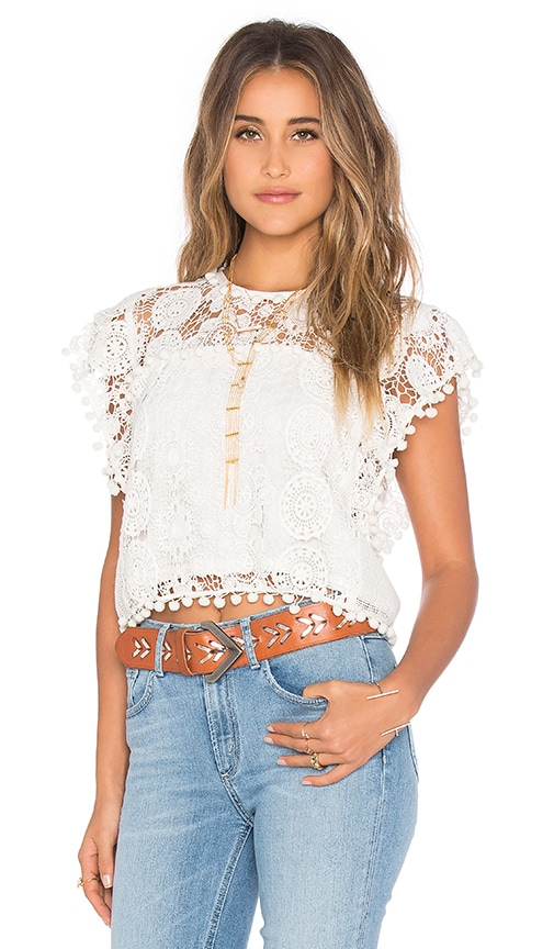 Tularosa Kennedy Top in White