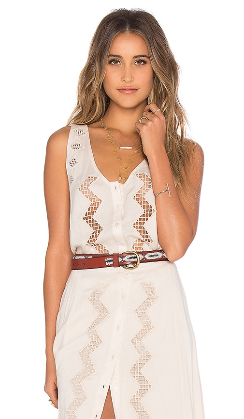 Tularosa Augusta Top in Cream