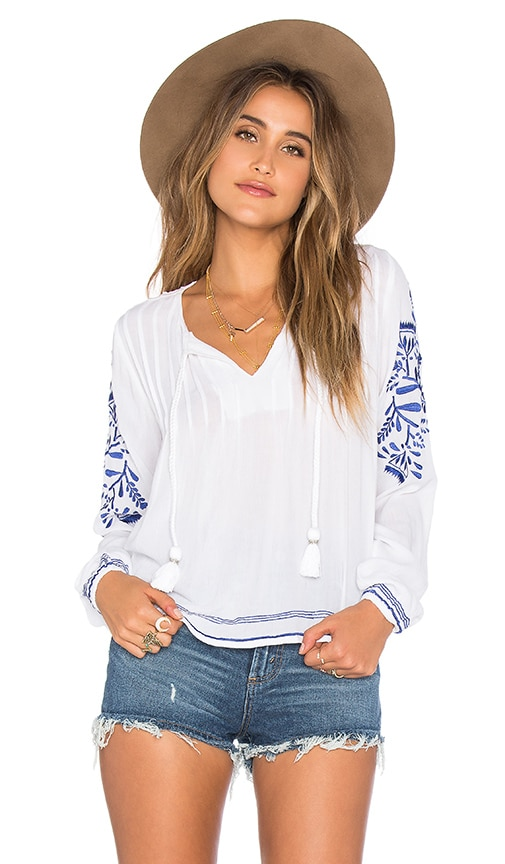 Tularosa x REVOLVE Rose Top in White