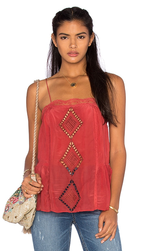 Tularosa Marni Tank in Red